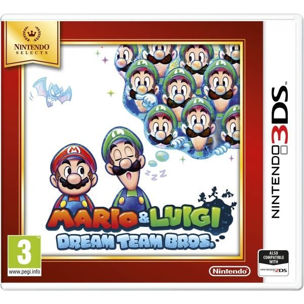 Mario & Luigi Dream Team Game 3DS (selects) | http://gamesactions.com shares #new #latest #videogames #games for #pc #psp #ps3 #wii #xbox #nintendo #3ds