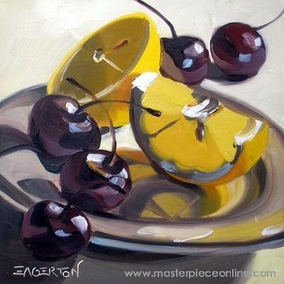 Leigh-Anne Eagerton - Lemon On White - Masterpiece Online