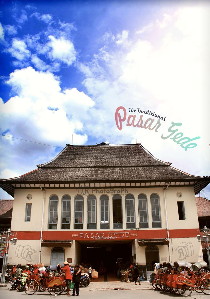 """The Traditional """"Pasar Gede""""  at Surakarta city, Central Java, Indonesia"""