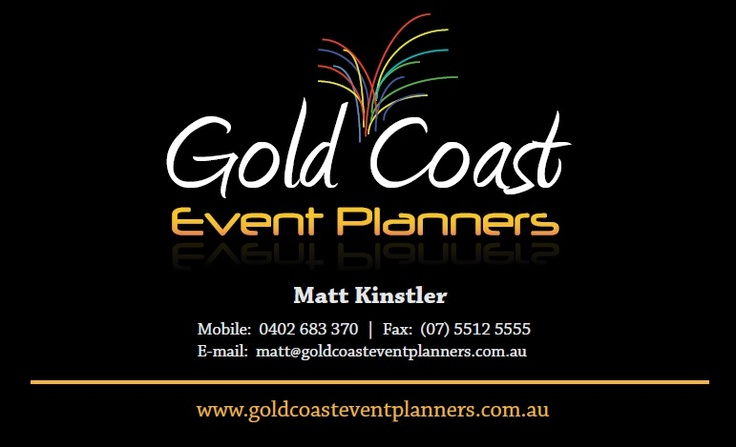 Gold Coast Event Planners (front)