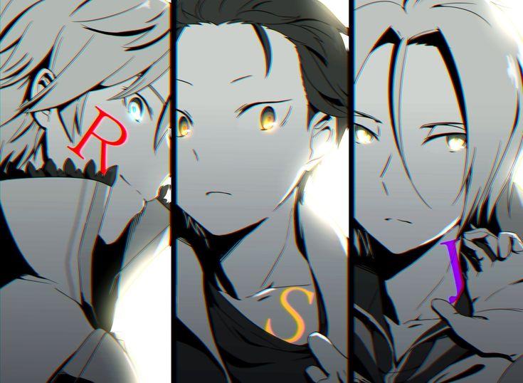 Reinhard van Astrea, Natsuki Subaru & Julius Euclius from Re:Zero Kara Hajimeru Isekai
