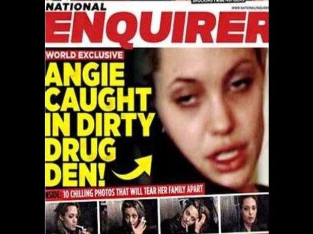 Tabloide Revela Pasado Oscuro De Angelina Jolie