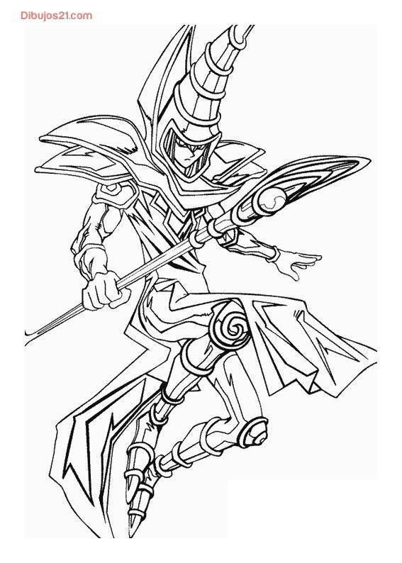 Coloriage Yu Gi Oh Monster Coloring Pages Coloring Pages For