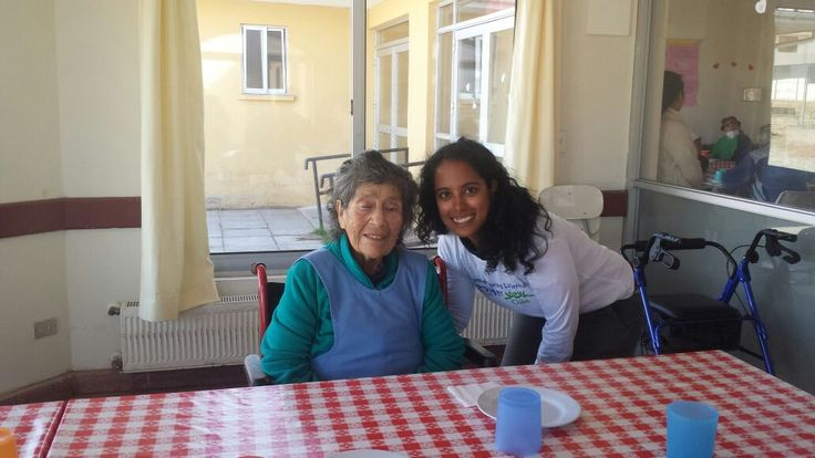 Volunteer Chile La Serena Janki Shukla at the Seniors Care center.  It seems like the perfect fit to help me achieve my goals of giving back during my gap year, improving my language skills, and gaining skills that will be useful to me in my future career as a physician. Chile also has great ecotourism, and I hope to indulge in my hobbies and do some hiking while I am there. As far as working in the Elderly Care Center, I am hoping to be as involved as I can be in the medical care of the…