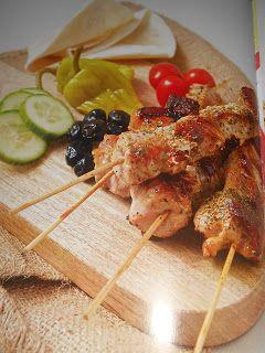 Le Chef Pierre D'Iberville: Souvlaki (Cuisine grecque)
