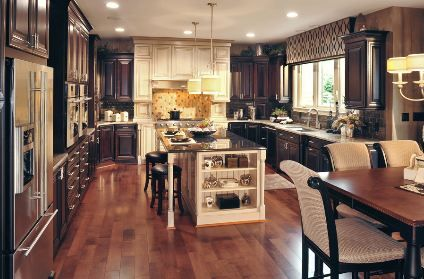 Drees Homes Cincinnati I Remember The First Time I Saw A Kitchen Decor With Two Different Finishes I Didn T Like It And Wondered If They Were H