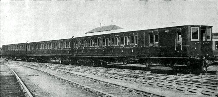 A Southern Railway 3-SUB electric multiple unit of the 1920s. Many of these were rebuilt from former steam stock, so that their cost did not have to be charged against the capital account