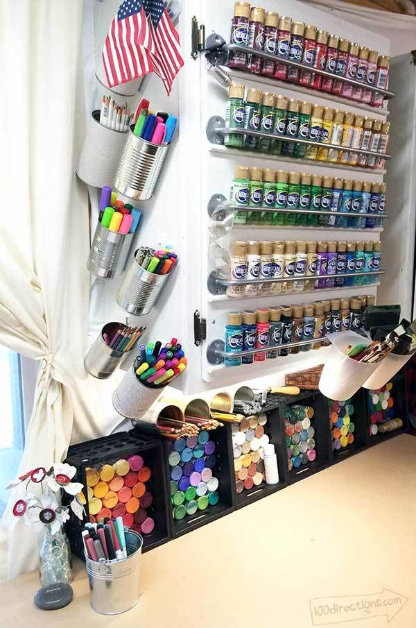 Craft Room Tour – a look inside my creative work space