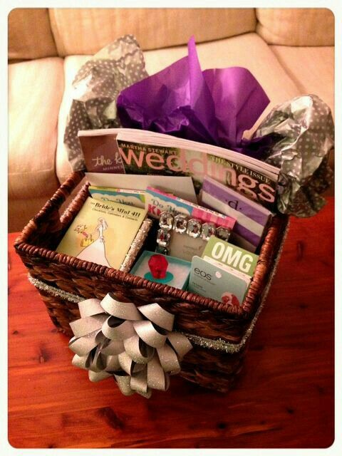 Gift Basket For Bridal Shower Or Engagement Party