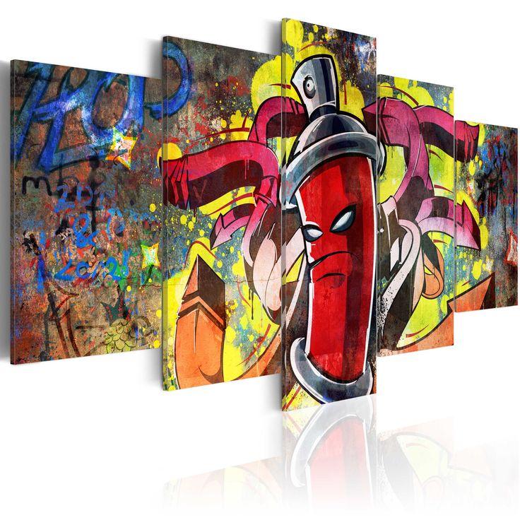 Obraz graffiti #graffiti #art #streetart #modern #sztuka #obraz #art