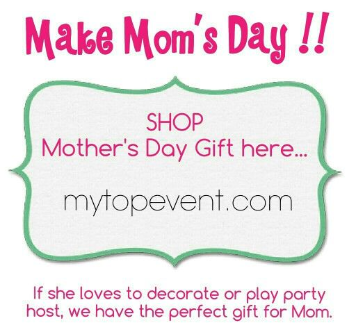 Make mom's day !!! You' ll find beautiful home decor and deliciuos desserts for her...  Visit us   mytopevent.com  We gladly accept PayPal, Visa, MasterCard, American Express , Interac  We ship everywhere in Canada and US. Free shipping 3km radius from L5B4N3 Mississauga.