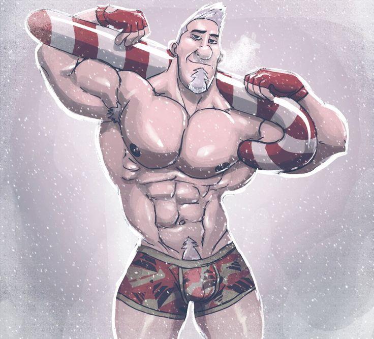Gay Male Christmas Santa