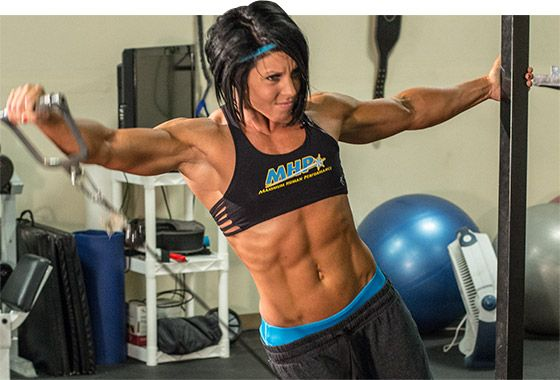 There are shoulders, and then there are DLB shoulders. You want a pair of your own? Here's the workout that can help you build them! #DanaLinnBailey #IFBBPro
