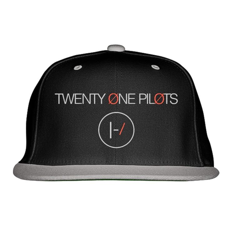 Twenty One Pilots Embroidered Snapback Hat