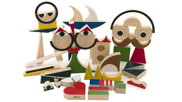 PlayShapes Wooden Block Toys  By MillerGoodman