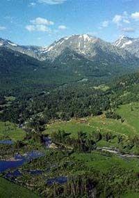 Elkhorn Mtns. near Helena, Montana