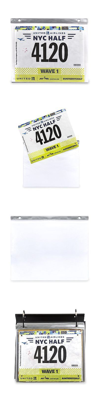 Other Fitness Clothing 158920: Bibfolio Race Bib Display And Protector Sheets | Designed By Gone For A Run |... -> BUY IT NOW ONLY: $36.8 on eBay!