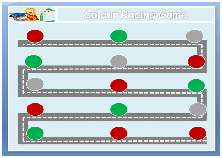 Simple board game to proctise colours https://papadeligames.wordpress.com/
