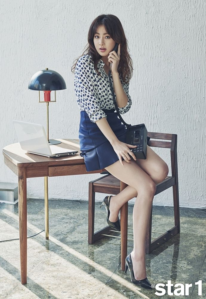 Kang So Ra Is Back In The Office For @Star 1's February 2015 Issue | Couch Kimchi