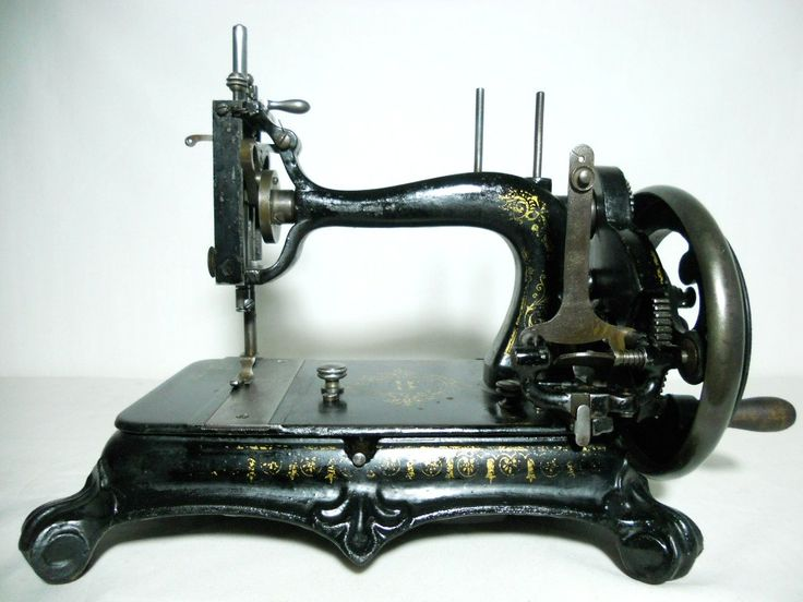 The Atlas Sewing Machine Company... Made in Braunschweig, Germany. By Grimme, Natalis and Co Serial number 184103 ~ Circa late 1890's.