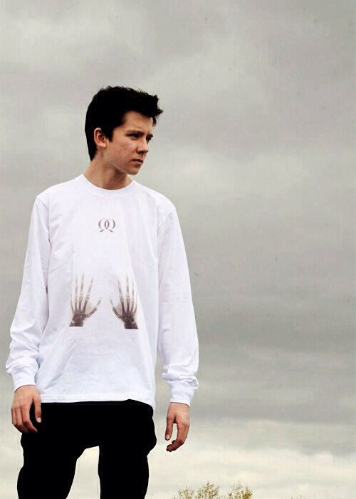 Asa Butterfield He was in enders game Boy in the Striped Pajamas and Hugo and going to be the new spiderman