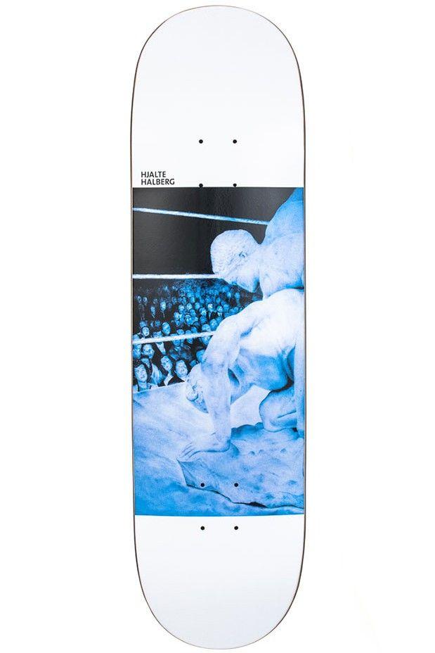 Halberg Wrestley Pro Skateboard Deck by Polar