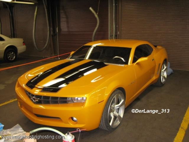 """Bumblebee - 2006 Camaro Concept Car from the """"Transformers"""" live-action movie"""