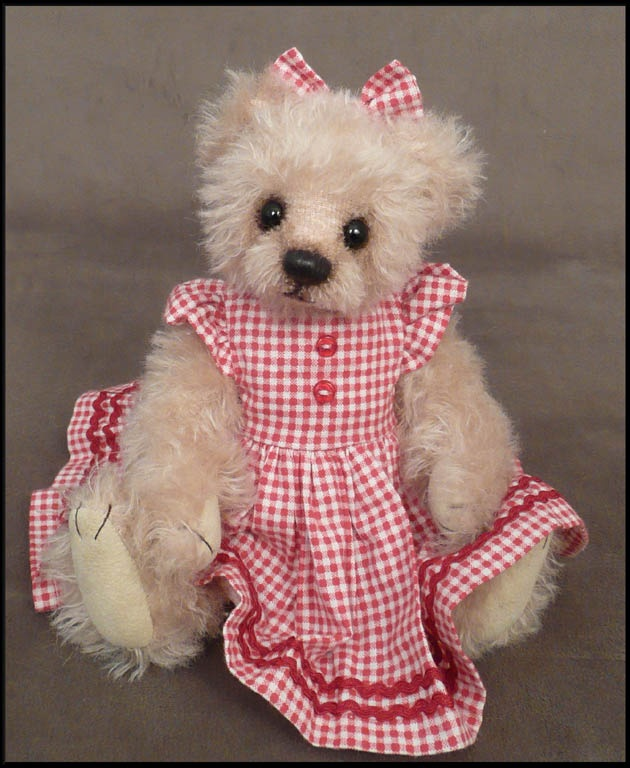 Gingham Dressed Bear