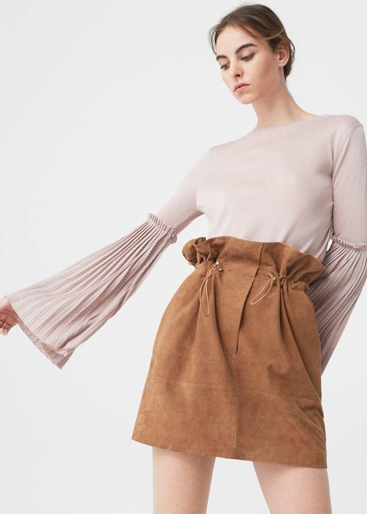 Flared sleeves sweater | MANGO