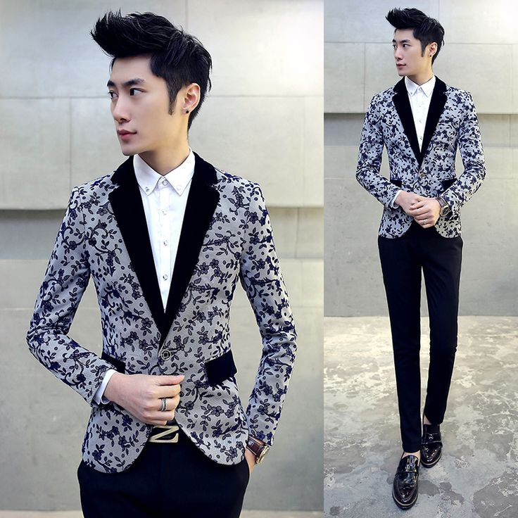 Cheap blazer men 5xl, Buy Quality casual blazer directly from China blazer men Suppliers: 2016 Autumn Blazers Mens 5XL Plus Size Dress Jackets For Mens Suits Prom Flower Printing Casual Blazers Cappotto Manteau Homme
