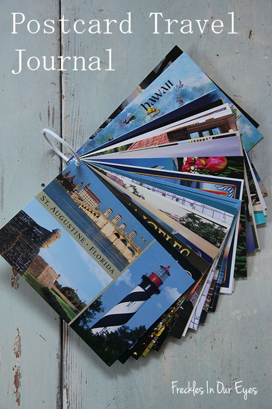 Ten Crafty Travel Projects - Postcards & Passports