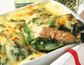 #Lasagne ze #szpinakiem i łososiem - wystarczy jedno spojrzenie ;)
