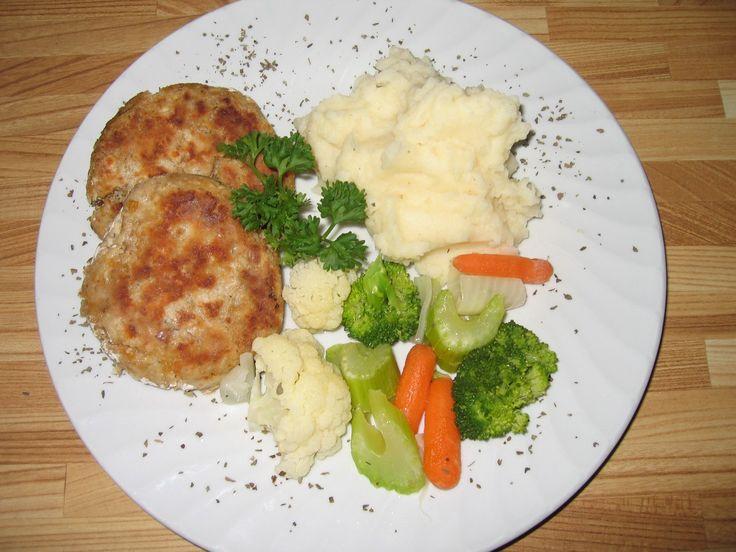 Croquettes de dinde (viande brune)