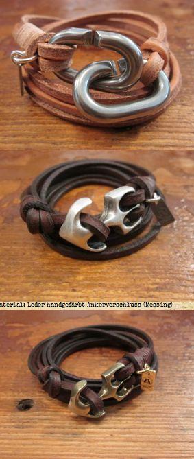 #mens #leather bracelets