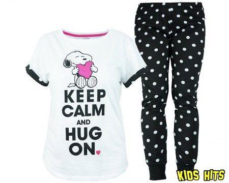 Snoopy piżama damska https://www.kidshits.pl/ODZIEZ-DAMSKA/2