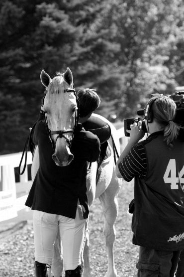 Olivier Philippaerts hugging Cabrio after winning the CN International <3  Olivier is described to be very talented but also be a focused and zen!  Way to go. You can't see his face in this one but the way he hugs his horse is so intense. I have seen him with his brother and dad in action...memorable day in my life. Goosebumps he gave me. <3