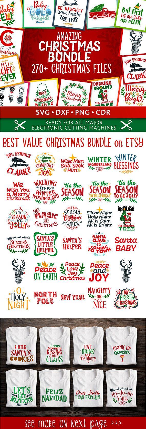 AMAZING SVG Christmas bundle! Get every Christmas…