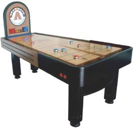 Summit Snap Back Rebound Shuffleboard Table | From Snap Back Shuffleboard |  Get More Information About
