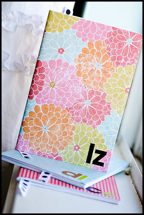 "{Personalized ""Welcome"" gift at first meeting?} Easy to make decorate notebook...would make a great personalized gift"