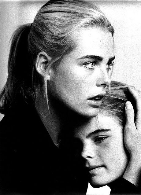 Margaux Hemingway & Mariel Hemingway, circa late 70s/ early 80s
