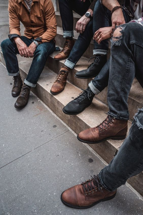 7 Ways To Wear Different Fashion Accessories Men S Style Guide To Dressing With Class Men Fashion Casual Outfits Mens Boots Casual Stylish Mens Outfits