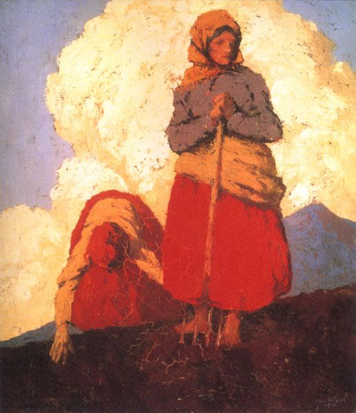 Paul Henry The Potato Diggers 1912 oil on canvas 51 x 46 cm National Gallery of Ireland, Dublin