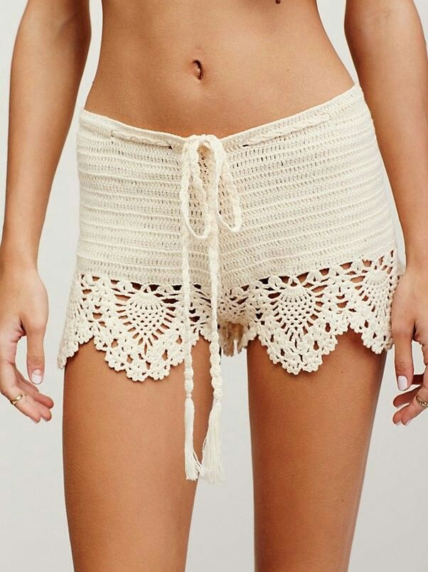 #crochetshorts inspiration from Free People
