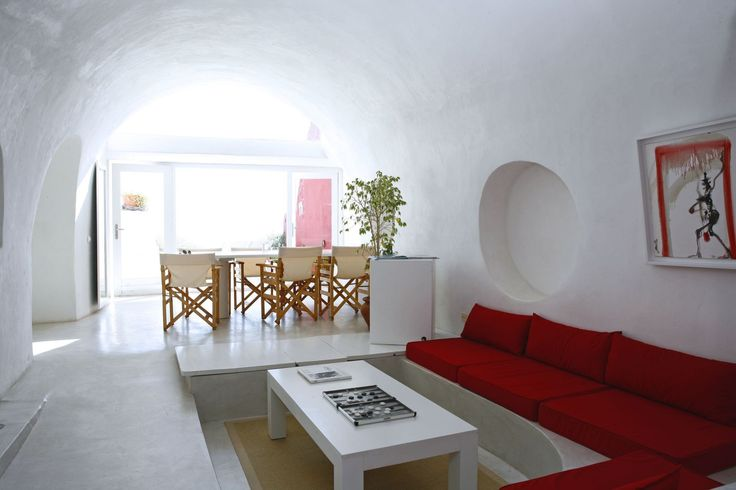 The unique architecture of Santorini is maintained and up-dated, bringing luxury and tradition together.