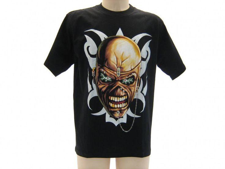 T-shirt maglietta manica corta TESCHIO taglia M