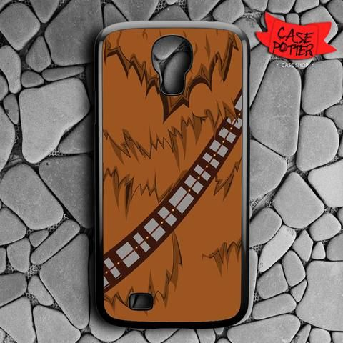 Brown Body Chewbacca Star Wars Samsung Galaxy S4 Black Case