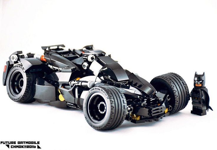 new MOC Lego project - Future Batmobile by 莫古