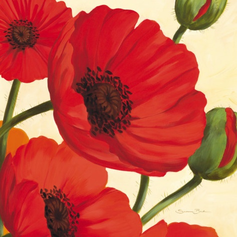 susanne bach: hawaiian poppies.