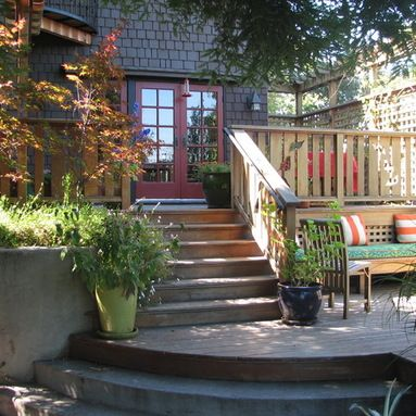 Best Eclectic Brown Shingle Patio Inspiration Outside Living 400 x 300