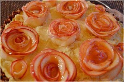 Tarta z jabłkowymi różami